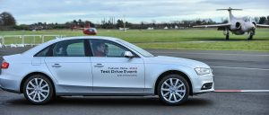 Audi Test Drive Event at Weston Airport